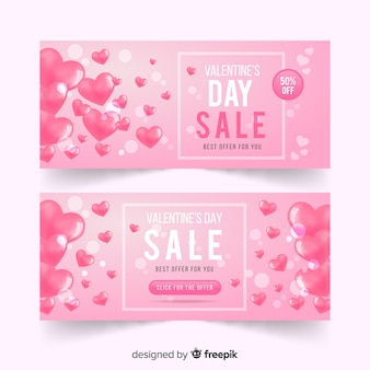 Realistyczne balony valentine transparent sprzedaży