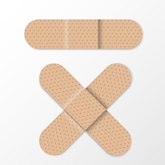 Realistyczne bandaże pomocnicze