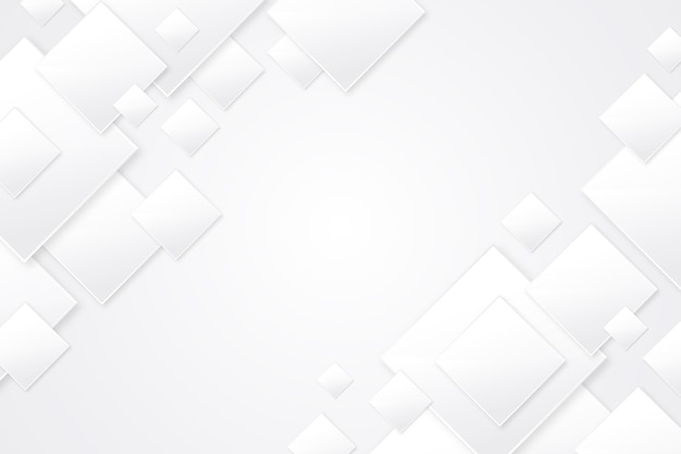 Realistyczne białe monochromatyczne tło