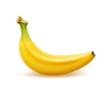 Realistyczne dojrzałe owoce banana