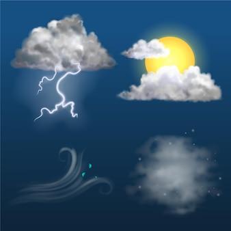 Realistyczne efekty pogodowe
