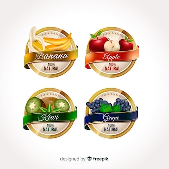 Realistyczne etykiety żywności ekologicznej