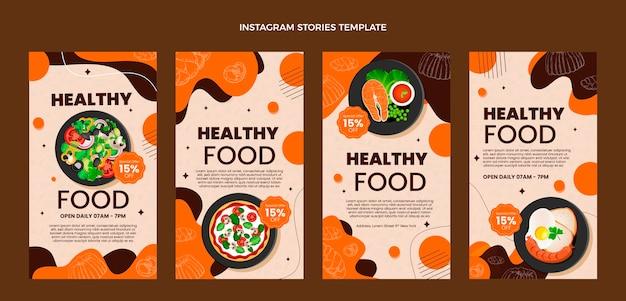 Realistyczne historie o jedzeniu na instagramie