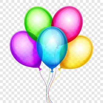 Realistyczne kolorowe balony