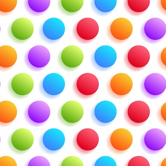 Realistyczne kolorowe koło z cienia wzór na białym tle