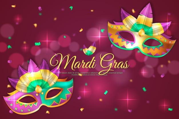 Realistyczne mardi gras