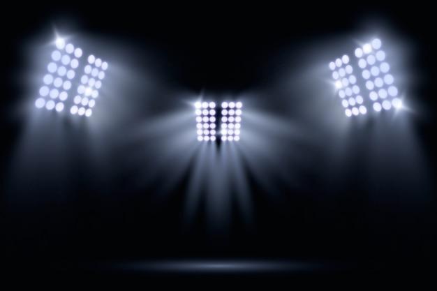 Realistyczne oświetlenie stadionowe