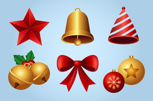 Realistyczne ozdoby świąteczne