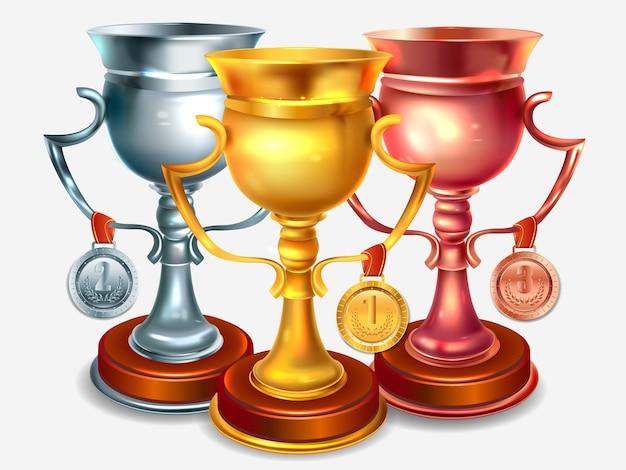 Realistyczne puchary zwycięzców