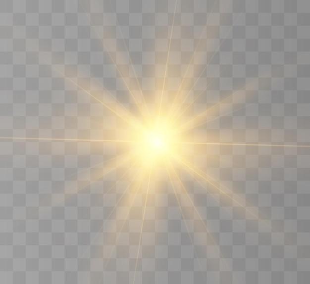 Realistyczne słońce