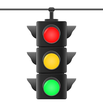 Realistyczne światła drogowe