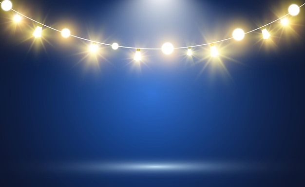 Realistyczne światła sznurkowe