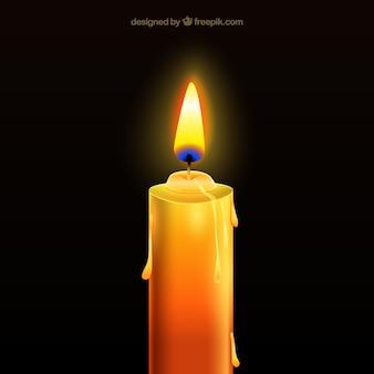 Realistyczne świeca