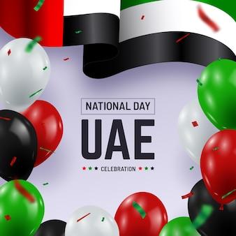 Realistyczne święto narodowe zjednoczonych emiratów arabskich