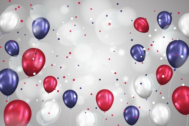 Realistyczne tło balon