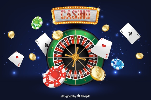 Realistyczne tło kasyno