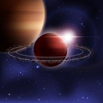 Realistyczne tło kosmosu
