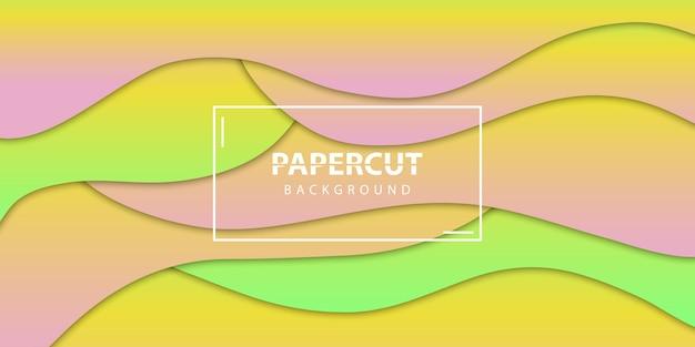 Realistyczne tło na białym tle warstwy papieru