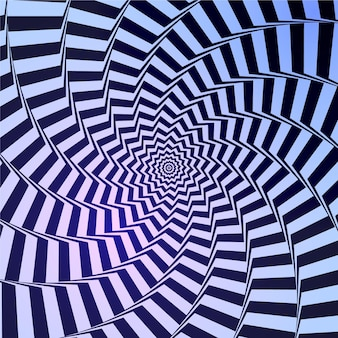 Realistyczne tło złudzenie optyczne