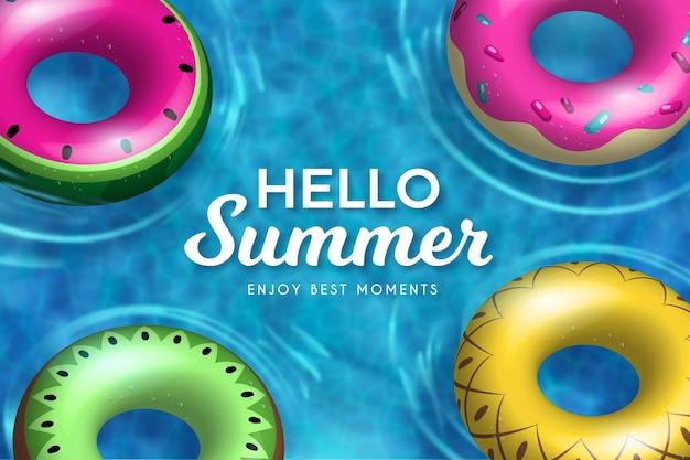 Realistyczne witaj lato