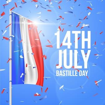 Realistyczne wydarzenie dnia bastylii