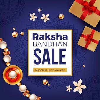 Realistyczne wyprzedaże raksha bandhan