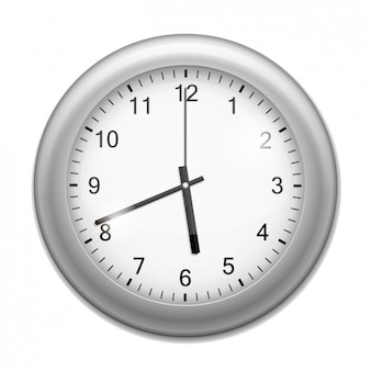 Realistyczne zegar ścienny