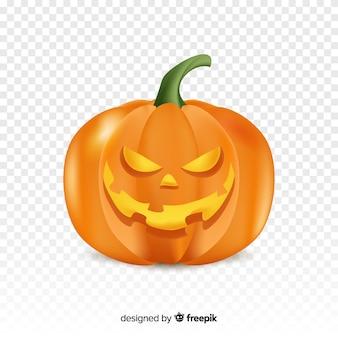 Realistyczne zło halloween dynia