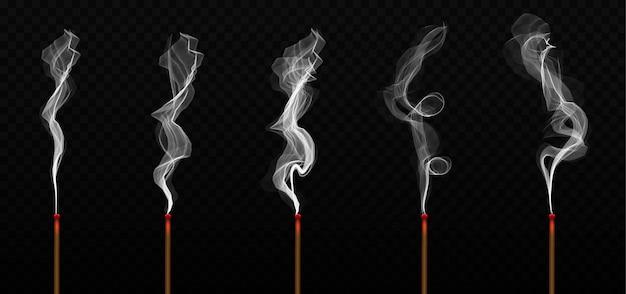 Realistyczny aromat kadzidełka z dymem.