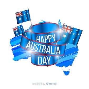 Realistyczny australia dnia tło