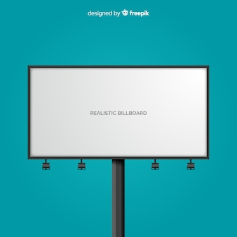 Realistyczny billboard