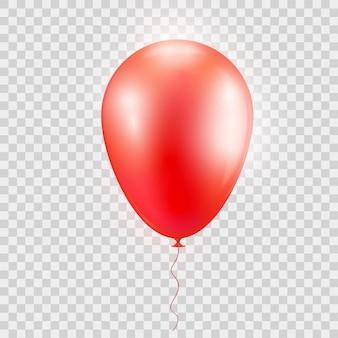 Realistyczny czerwony balon