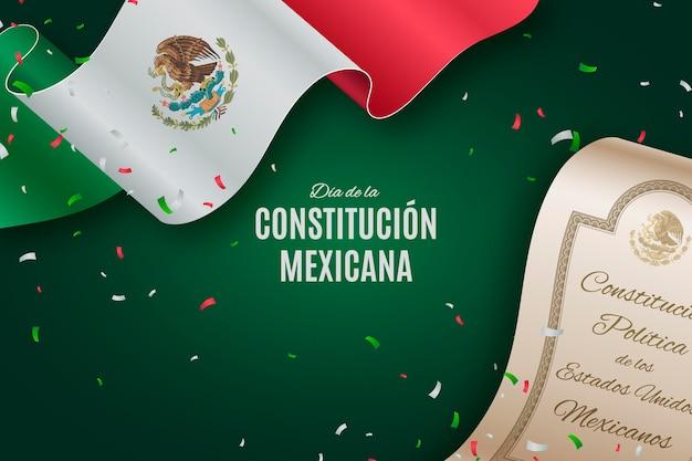 Realistyczny dzień konstytucji meksyku
