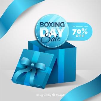 Realistyczny dzień sprzedaży boxing