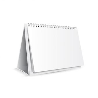 Realistyczny kalendarz stołowy