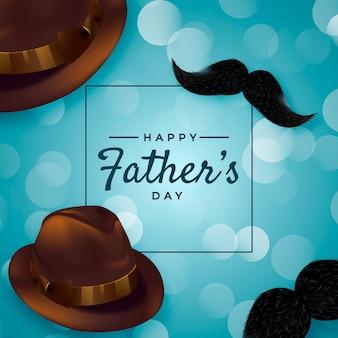 Realistyczny kapelusz na dzień ojca