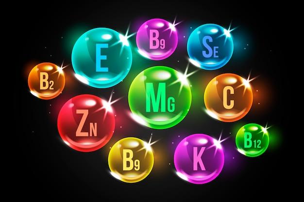 Realistyczny kompleks niezbędnych witamin i minerałów
