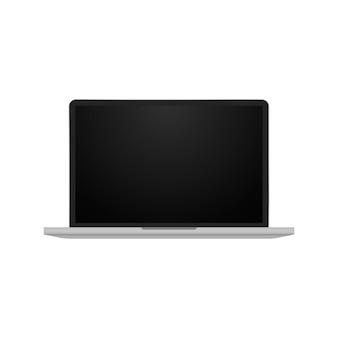 Realistyczny laptop