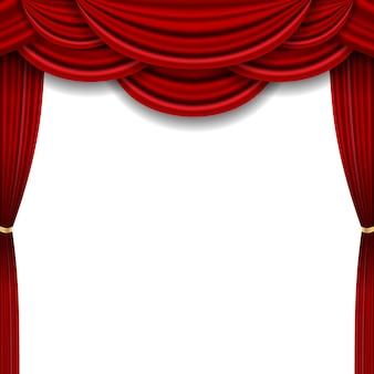 Realistyczny luksusowy wystrój gzymsu kurtyny tkanina domowa wewnętrzna draperia tekstylna lambrekin