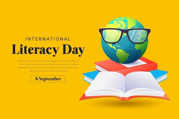 Realistyczny międzynarodowy dzień alfabetyzacji