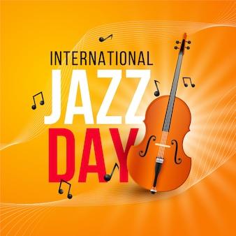 Realistyczny międzynarodowy dzień jazzowy