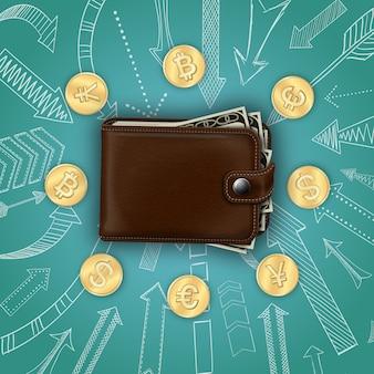 Realistyczny money template