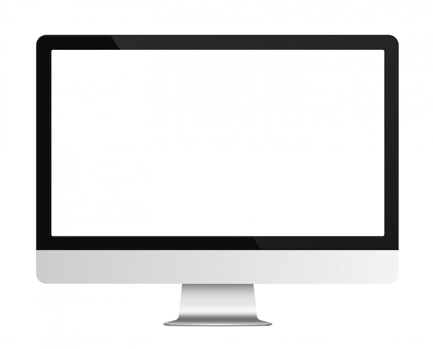 Realistyczny monitor komputerowy