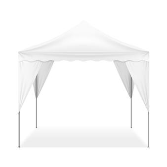 Realistyczny namiot zewnętrzny
