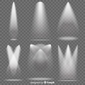 Realistyczny pakiet oświetlenia sceny