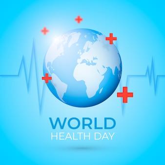 Realistyczny projekt na światowy dzień zdrowia