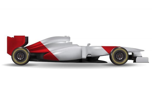 Realistyczny samochód wyścigowy
