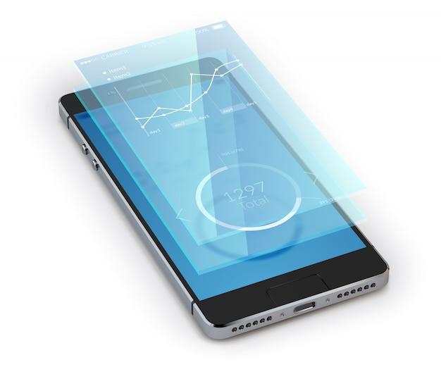 Realistyczny smartphone