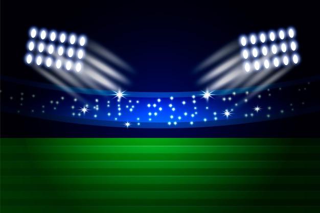 Realistyczny stadion futbolu amerykańskiego