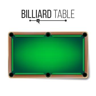 Realistyczny stół bilardowy